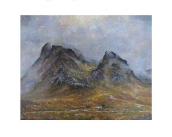 Glencoe oil painting