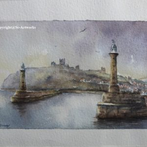 Whitby watercolour