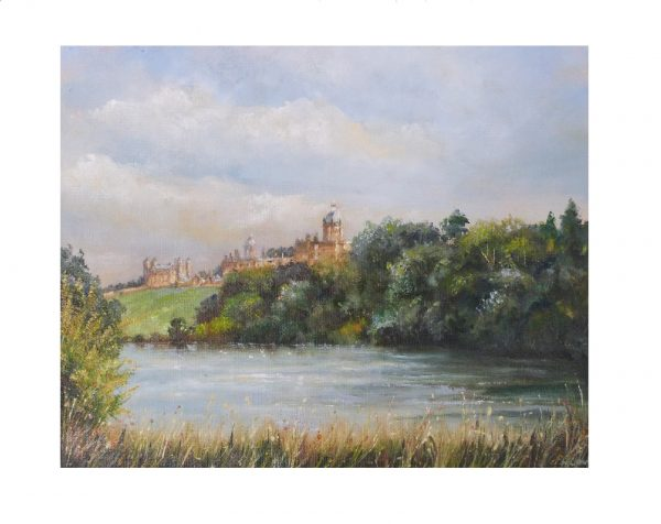Castle Howard oil painting